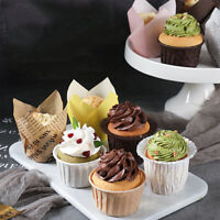 50Pcs Muffin Paper Cups Cupcake Wrapper Liner Forms Mold For Cupcake BakingBB