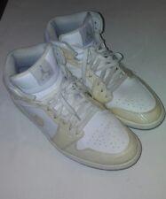 NIKE Air Jordan 1 Phat MID Men's Size 12 Carbon Fiber White Wolf Grey 364770-102