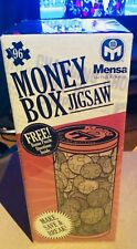 MENSA Money Box Jigsaw Puzzle By The High IQ Society Genius Stocking-filler!