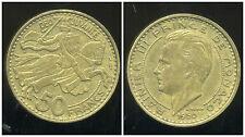 MONACO 50 francs 1950  ( bis )