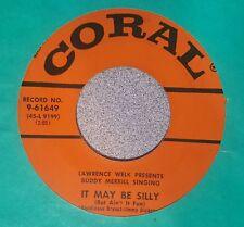 Buddy Merrill – Rock 'N' Roll Ruby / It May Be Silly ~ 1956 Rockabilly