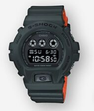 NEW Casio G-SHOCK DW6900LU-3 | Ana-Digital Men's Watch | ARMY GREEN ORANGE
