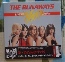 The Runaways - Japan Mini LP Paper Sleeve CD Live In Japan 1977 UICY-93043
