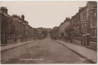 Cromwell Road Luton, Bedfordshire RP Postcard B787