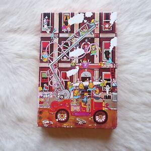 FIREMEN Jigsaw Puzzle 54 Large Pieces Kids TEENS Retro VINTAGE