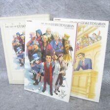Gyakuten Saiban Ace Attorney Art Book Juego Ilustración Kazuya Nuri CP33