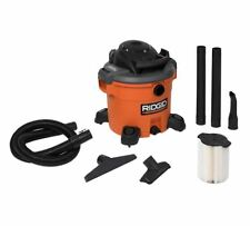 Wet Dry Vac, 12 Gallon 5.0-Peak HP Compact Vacuum Cleaner W/ Cartridge Filter