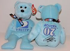 2007 RETIRED TY BEANIE BABIES NASCAR COLLECTION - CLINT BOWYER #07 DIRECT TV