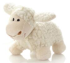 Hansen Ovis Schurwolle Schaf stehend 17 cm Kuscheltier Lamm klein weiss Kinder