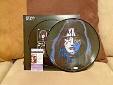 Ace Frehley signed KISS Solo Picture Disc Album LP Record Auto Autographed JSA
