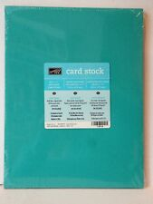 Stampin Up TEXTURED CARDSTOCK 8 1/2 x 11 NEW 36 pack Melon Razzleberry Bermuda