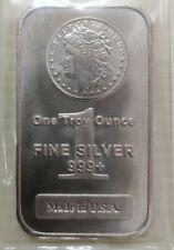 Willie: Morgan Liberty 1oz Silver 999.9 bar