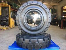 Globestar Forklift Tire 650 10 Black Solid Pneumatic