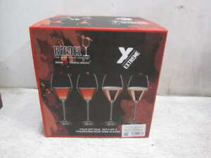 Riedel Extreme Rose and Champagne Clear Crystal Wine Glass - Set of 4