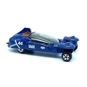 ERTL The Blade Runner #44 Police Spinner Car Blue Diecast 1/64 Loose 1982 USA