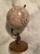 World Globe On Stand Made For Tabletops. Decorative And Cool!