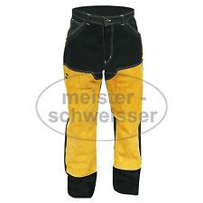 Schweißerhose ESAB Lederhose flammhemmend feuerfest Schweißerbekleidung Leder
