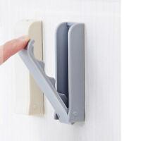 Folded Door Hook Invisible Coat Storage Holder Wall Hanger For Cloth FM