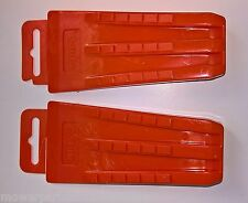 2 Plastic Chainsaw Pocket Size Falling, Felling Wedges, 5-1/2 Inch Plastic Wedge