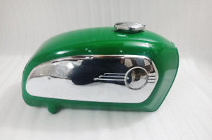 BMW R75 5 TOASTER PAINT RACING GREEN TANK 1972 MODEL CHROME CAP+SIDE PANELS