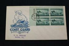 PATRIOTIC COVER 1945 1ST DAY ISSUE HONORING THE U.S. COAST GUARD IOOR (2628)