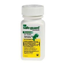 Safe Guard Goat Oral Liquid Dewormer 125ml Fenbendazole 10 100mg Per Ml