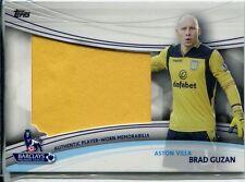 Topps Premier Gold Football 13/14 Jumbo Relic Card Brad Guzan