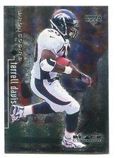 1998 Upper Deck Black Diamond Rookies Terrell Davis #26 Denver Broncos