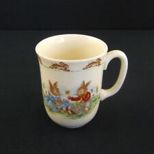 Vintage Royal Doulton Bunnykins Don Beaker Mug 1 Handle Daisy Chains 1954