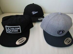 Volcom Classic Mens Snapback Hats Nwt