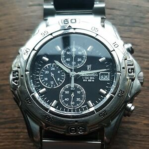 Rare Festina 5603 Chronograph With 100ths Center Second Hand Nice Piece Of Kit