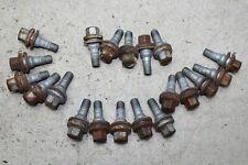 Jeep Tapones de valvulas cromados con tornillos bouchons valve tire valve caps