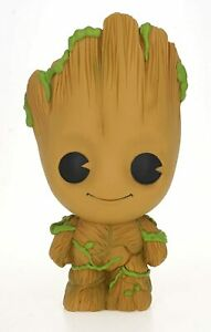 "MARVEL BABY GROOT BUST BANK 10"" BRAND NEW GREAT GIFT MONEY BOX"