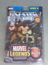 "MARVEL LEGENDS 6"" Series 6 Wolverine brown costume (JML 98)"