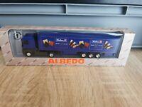 (K22) Albedo LKW H0 1:87 Renault Bahlsen OVP
