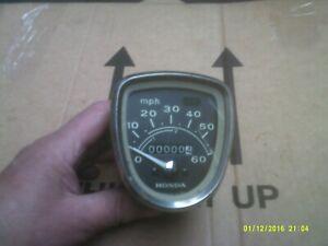 honda c50 c70 c90 cub speedo clock nos