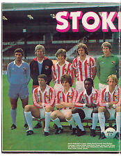 STOKE CITY 1980-1981 ORIGINAL HAND SIGNED TEAM GROUP WITH 8 X SIGNATURES