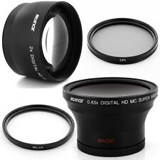 Albinar 58mm 0.43x Wide fisheye, 2x Tele Lens for Olympus E-1 E300 E330 E-500