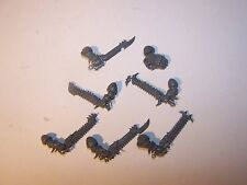 7 Chaos Raptor / Warp Talon Close Combat Weapons (bits auction), 40K GW