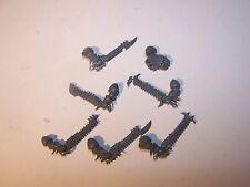 7 Chaos Raptor / Warp Talon Close Combat Weapons (bits auction), 40K GW