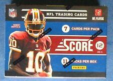 NFL Football Panini Score 2012 Box OVP Sealed NFL