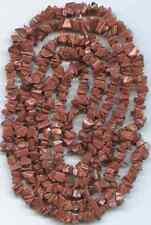 "Goldstone Semi-Precious Stone Bead Chips-34"" Strand"