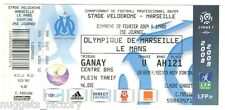 Billet  / Place  OM Olympique de Marseille - OM vs le Mans  ( 074  )