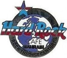"Hard Rock Cafe BAHRAIN 2000 MILLENNIUM PIN Silver ""Rock The 21st Century"" #570"