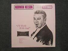 I'll Walk With God Norman Nelson~RARE 1950s? Christian Xian Male Vocal~