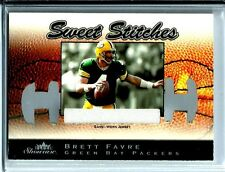2003 Fleer Showcase Sweet Stiches Jersey Brett Farve D# /899 Green Bay Packers