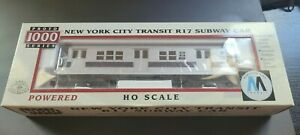 PROTO 1000 FROM WALTHERS HO SCALE NYCT R17 CAR Powered