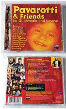 PAVAROTTI & FRIENDS For Guatemala & Kosovo Joe Cocker u.a... Decca CD + BONUS CD