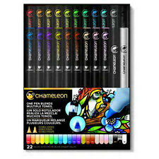 CHAMELEON ART PRODUCTS CACT2201  CHAMELEON COLOR TONES 22 PEN DELUXE SET