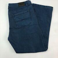 Blacksmith Jeans Mens 40X32 Blue Straight Leg Cotton Blend Medium Wash Zip Fly
